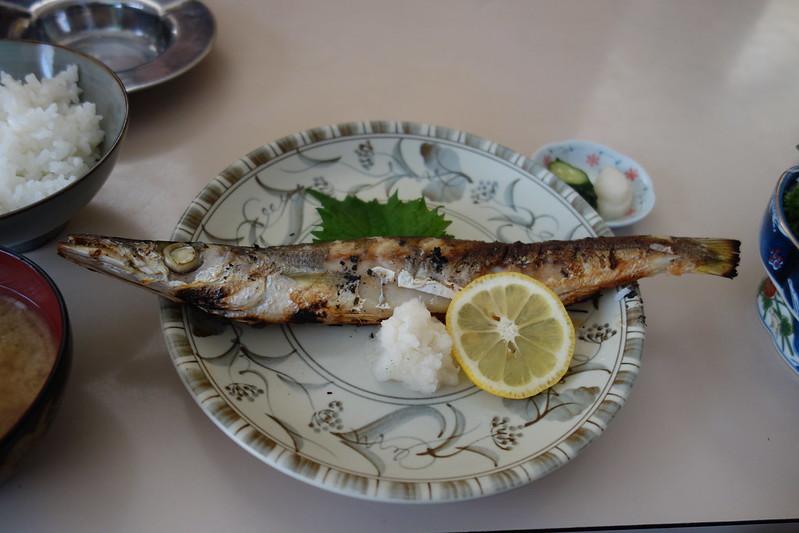 broiled fish @Bunsa Shokudo, Enoshima , Fujisawa City