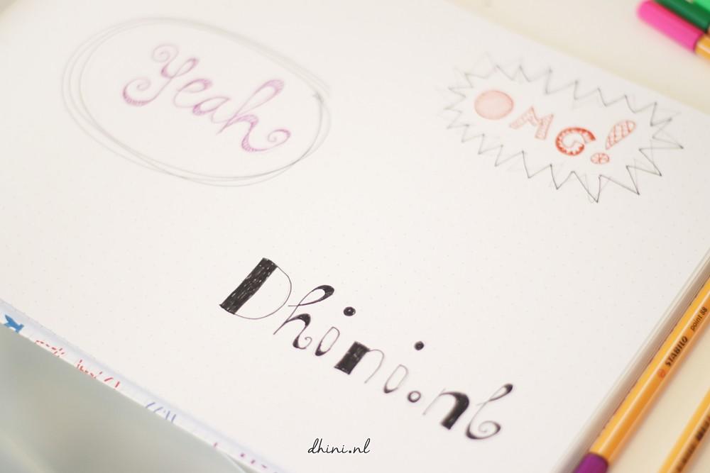 Letter Fun Schetsboek