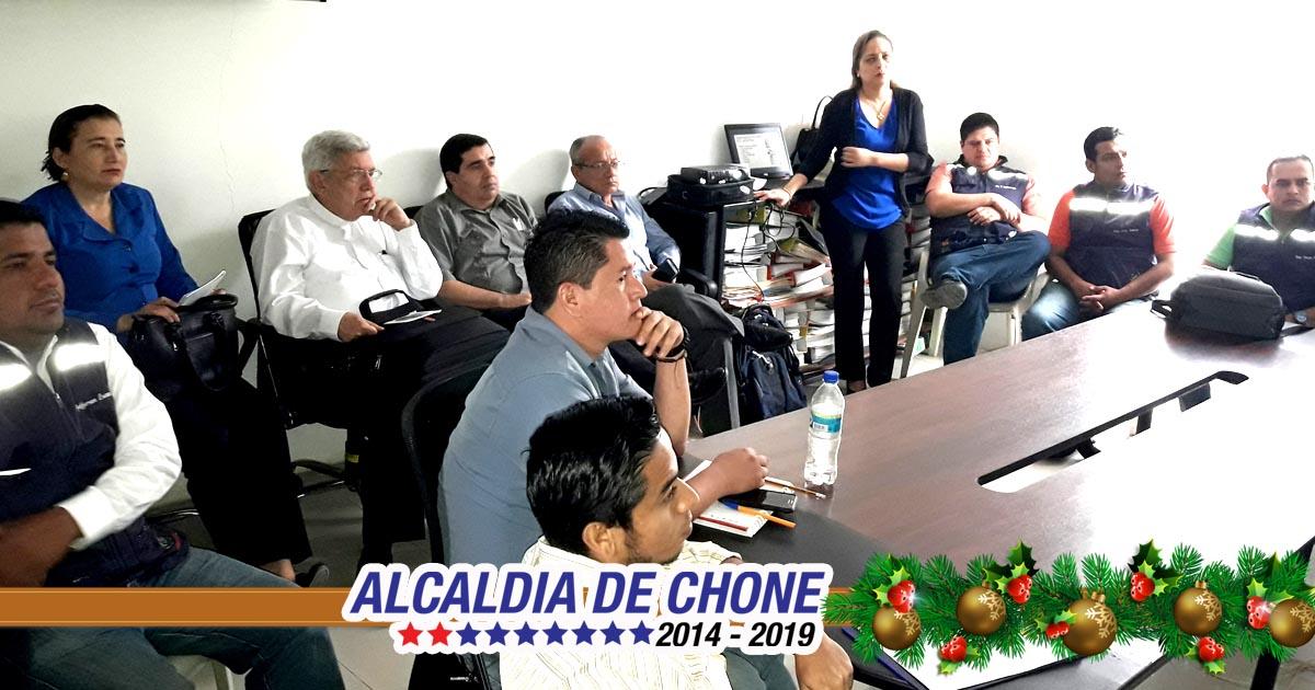 El MIPRO capacita a técnicos municipales de Chone
