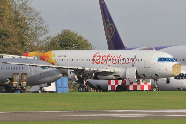 Airbus A319-132, Fastjet Zimbabwe, Z-FJE (MSN 2281)
