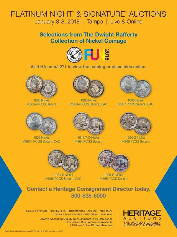 Heritage E-Sylum ad 2017-11-05