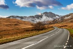 Wnter Scenery Snowdonia