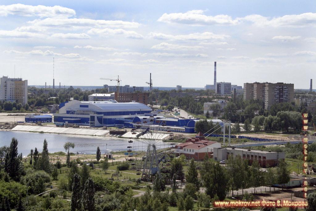 Город Йошкар-Ола. Вид на Кокшагу.