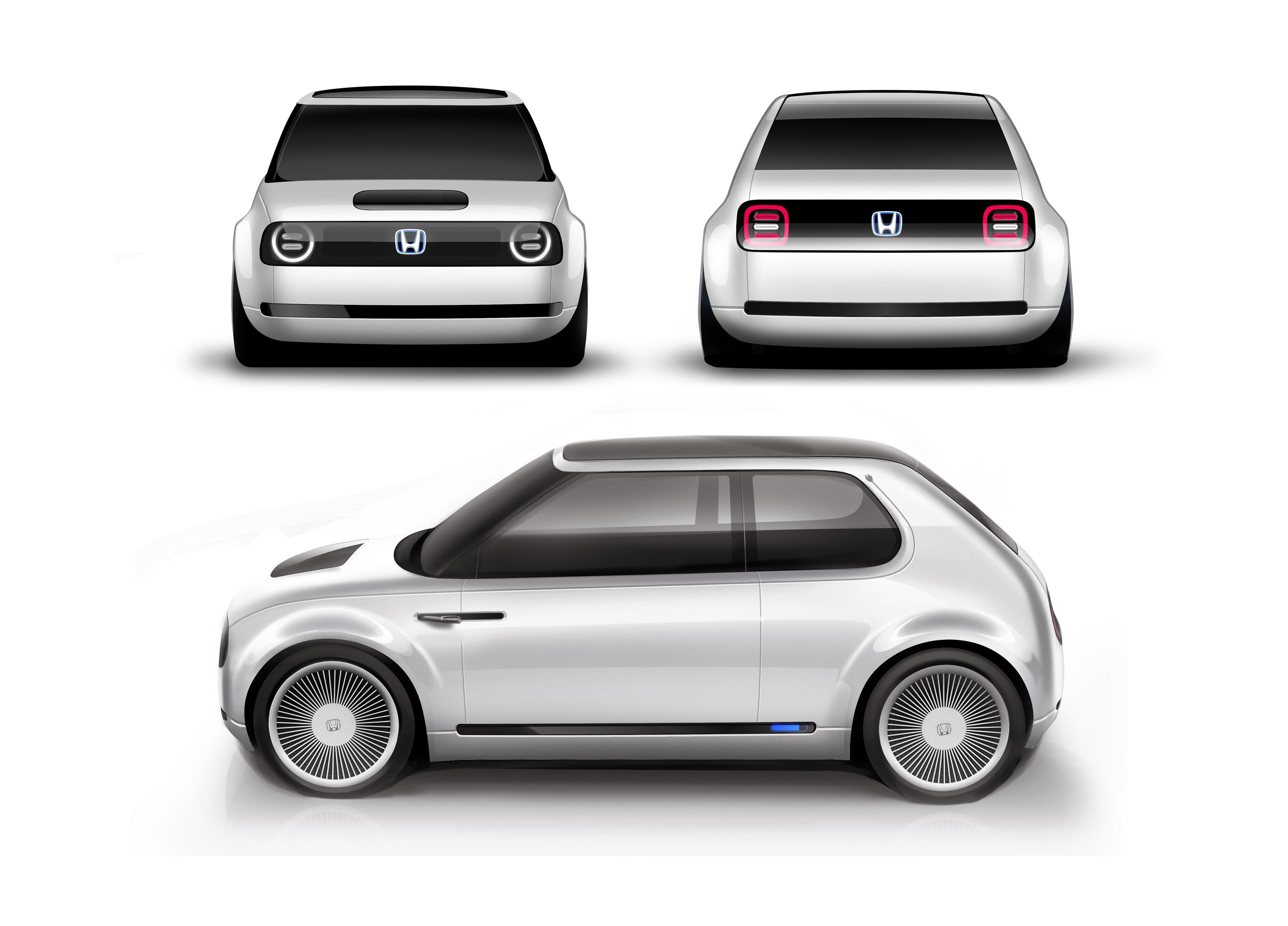 honda urban ev concept simple and sophisticated design auto design. Black Bedroom Furniture Sets. Home Design Ideas