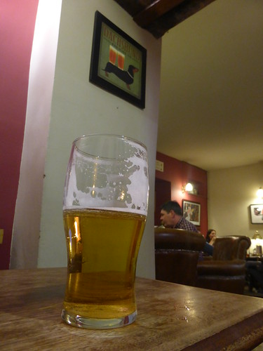 Clun Pale Ale at the Castle Hotel