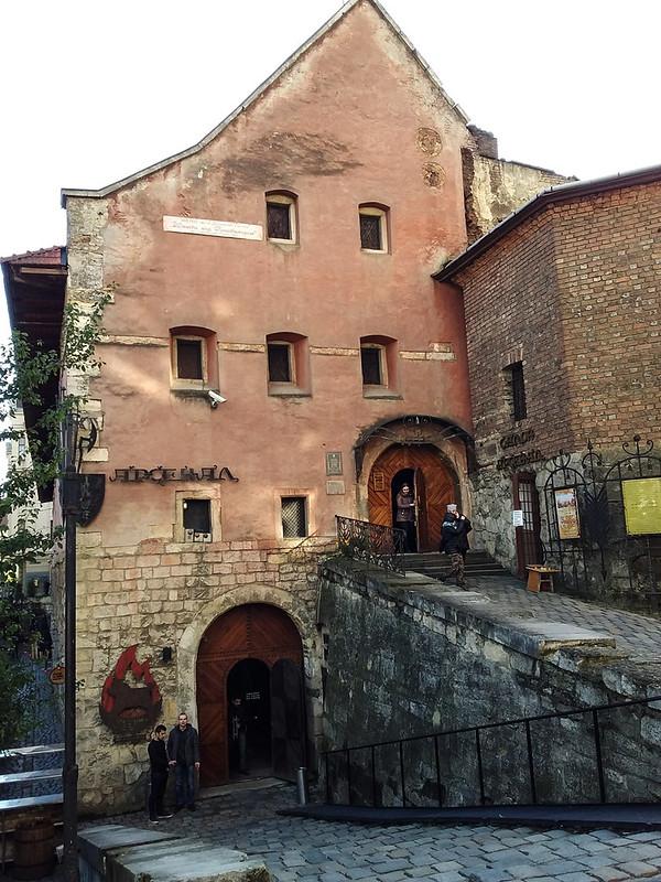 Lviv Silah Müzesi - Dışarıdan