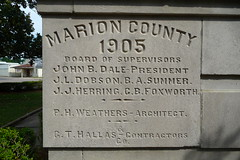 Marion County Courthouse.  Columbia, Miss.