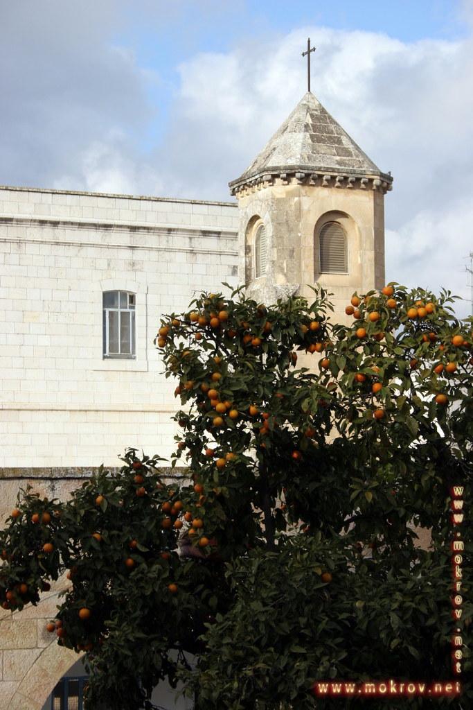 Исторический центр Иерусалима с фотоаппаратом прогулки туристов