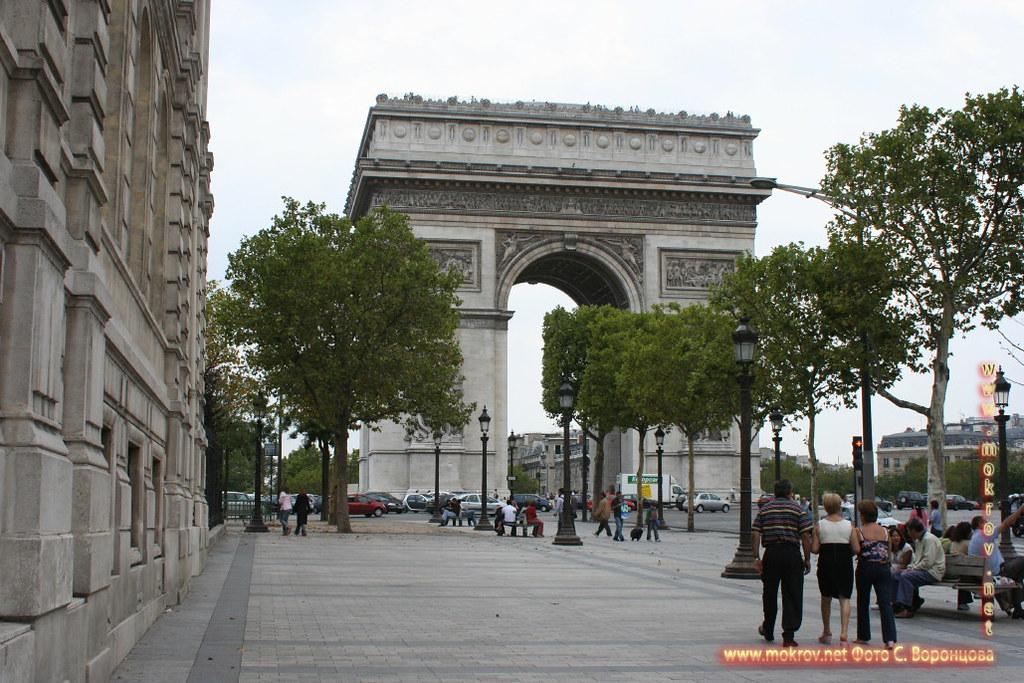 Город Париж, столица Франции фоторепортажи