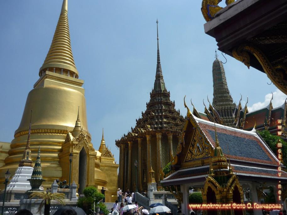 Дворец Будды  в Таиланде фотографии сделанные днем и вечером