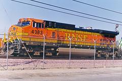 BNSF C44-9W No. 4383 At Hobart Yard
