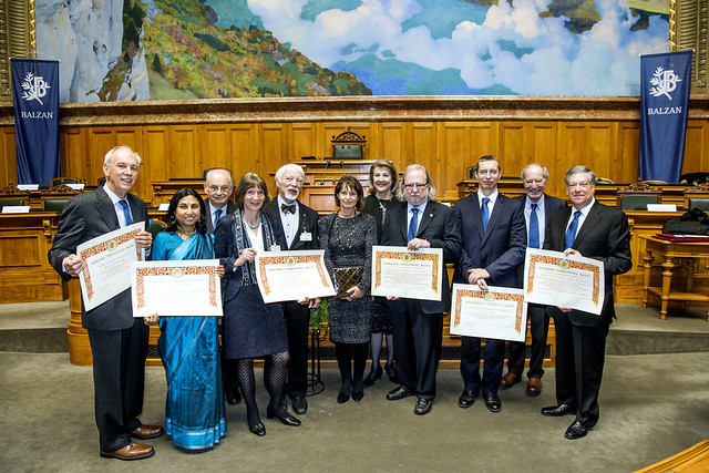 Balzan Prizes 2016-17