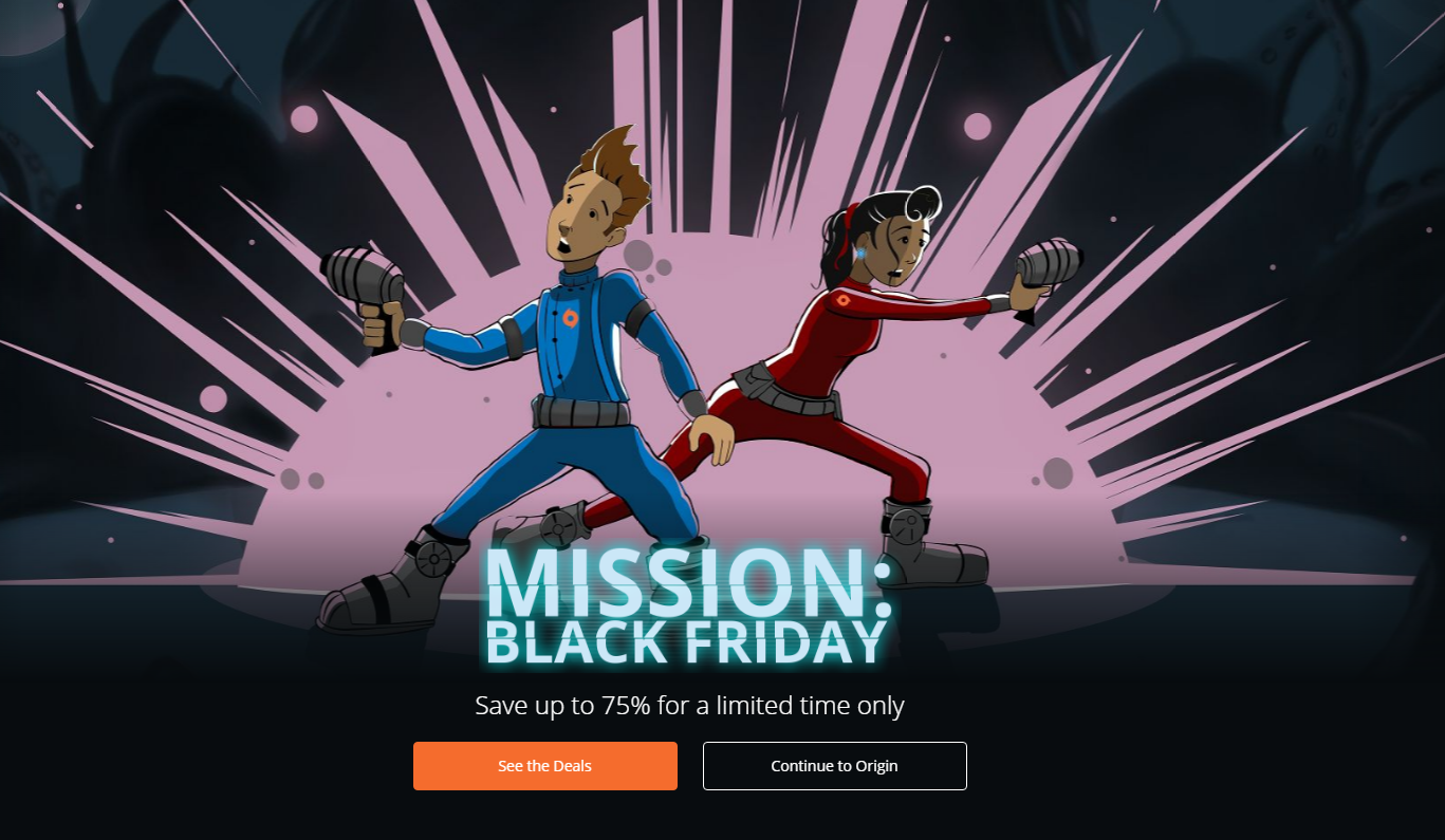 Origin Black Friday Cats And Dogs