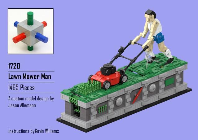 Lawn Mower Man Instructions Jk Brickworks