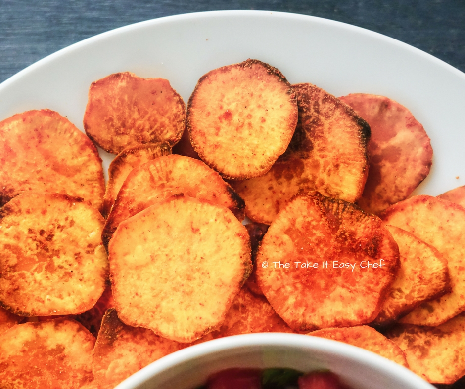 Crispy Sweet Potato Chips