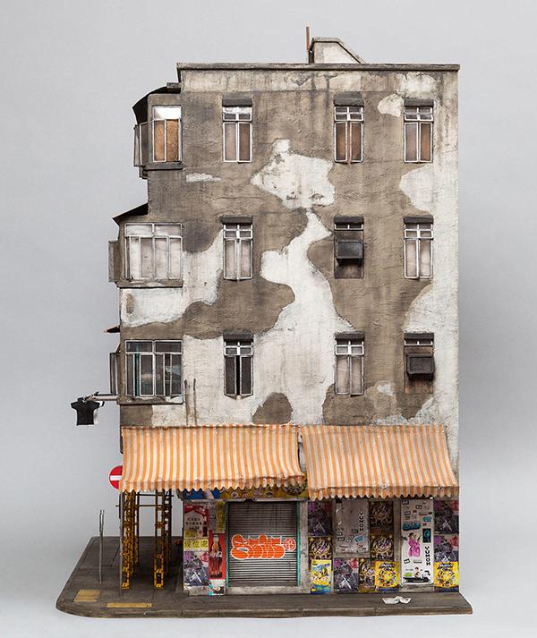 Mô hình kiến trúc thu nhỏ của Kowloon tại Hồng Kông
