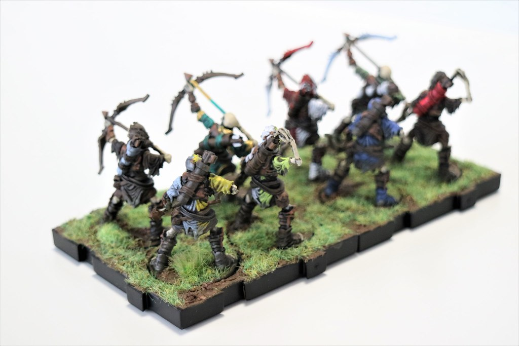 Runewars Miniatures Reanimate Archers Back