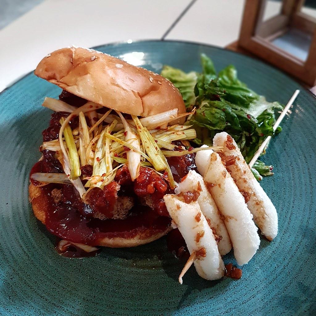 Lowercase_Kimchi Chicken Burger