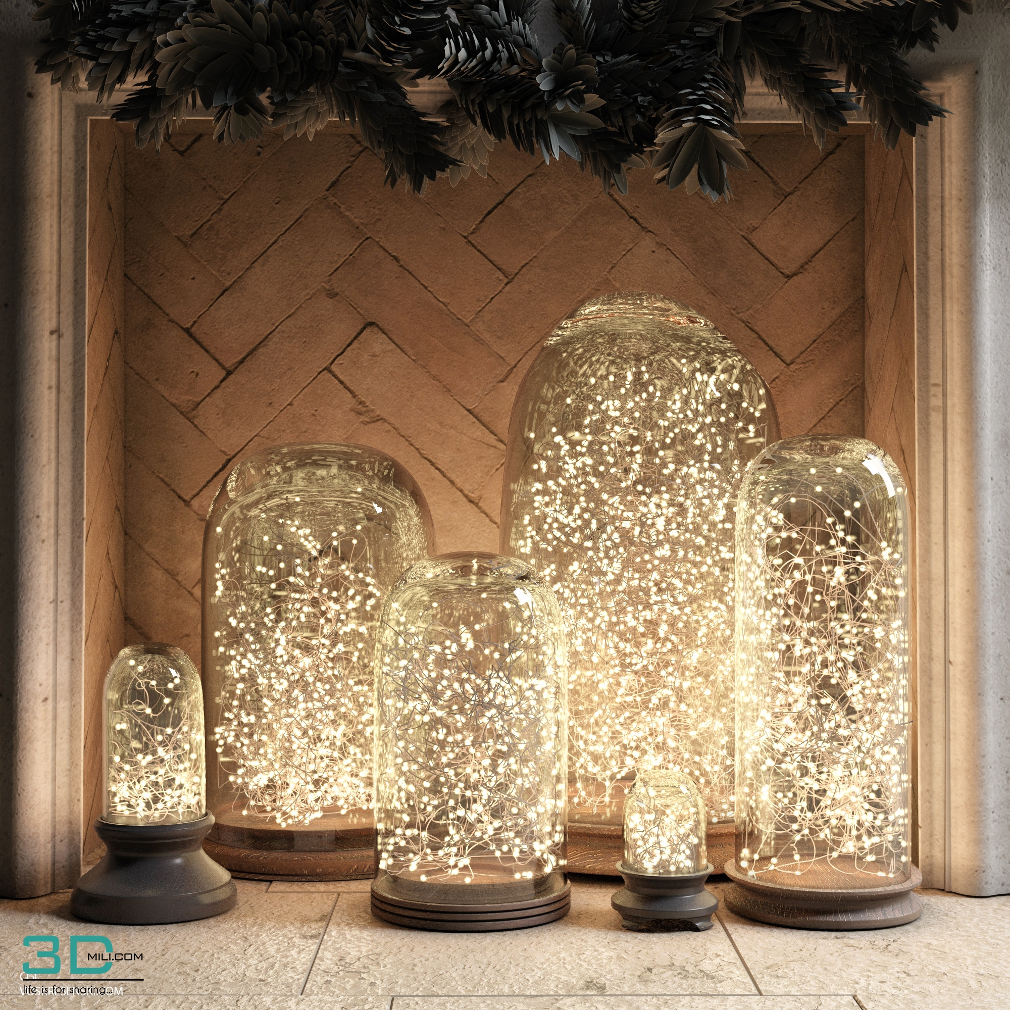 Christmas Decor 3 3dmodel Free Download