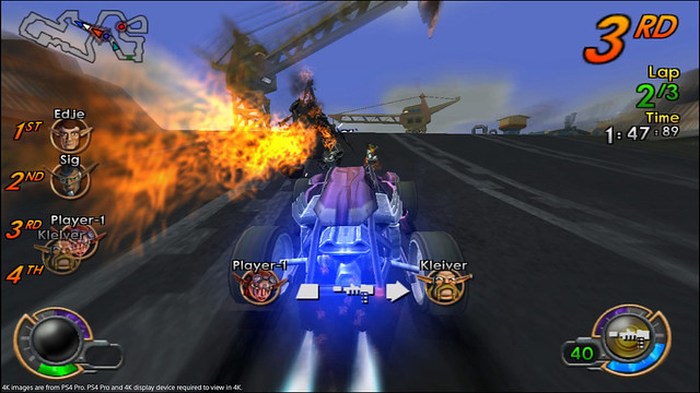 Jak X Combat Racing on PS4