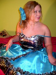 Party dress lady