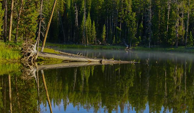 West Thumb pond