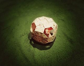 Paper football match