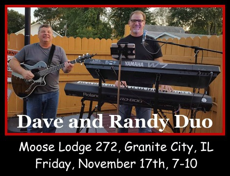 Dave and Randy Duo 11-17-17
