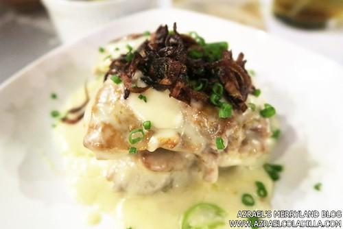 Shrimp Bucket - Dads Seared Chicken in Coconut Milk