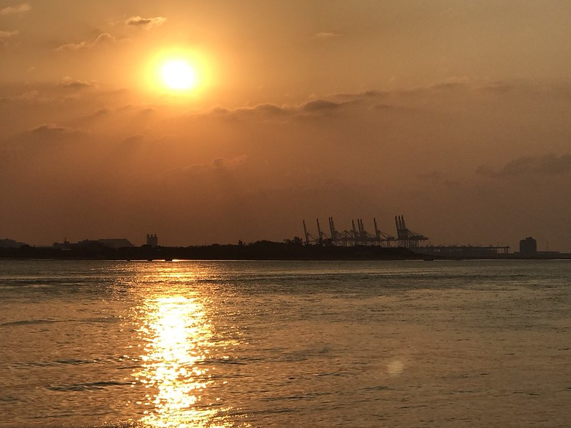 淡水夕陽落日_171203_0021