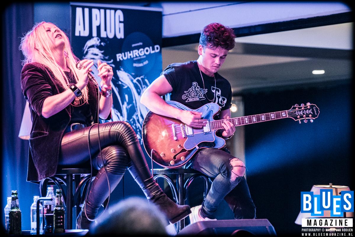 Flirting with The Blues 2017 - AJ Plug & Guy Smeets