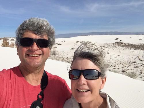 White Sands selfie