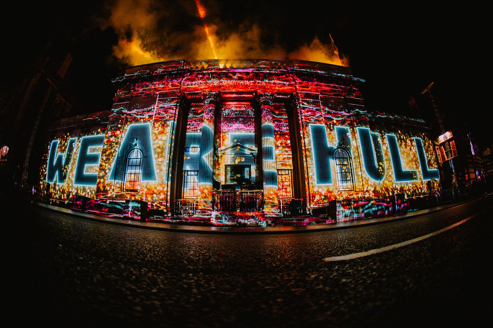 Made In Hull – We Are Hull by Zsolt Balogh. Photo: © Thomas Arran