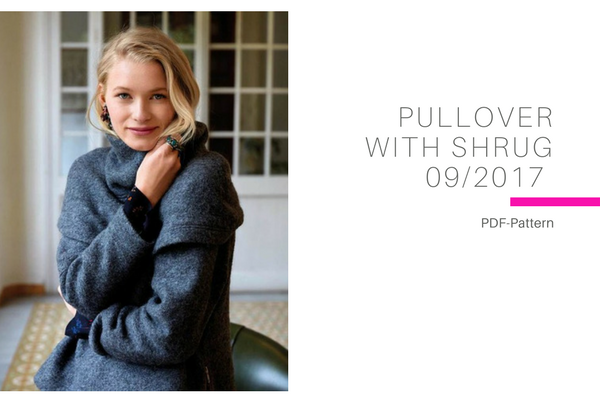 Pullover with Shrug