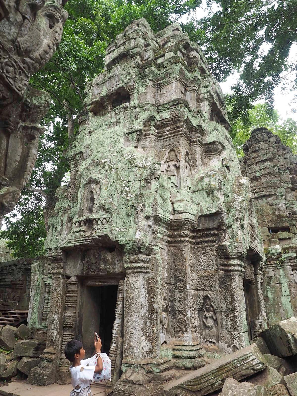 temples of Angkor Kambodža