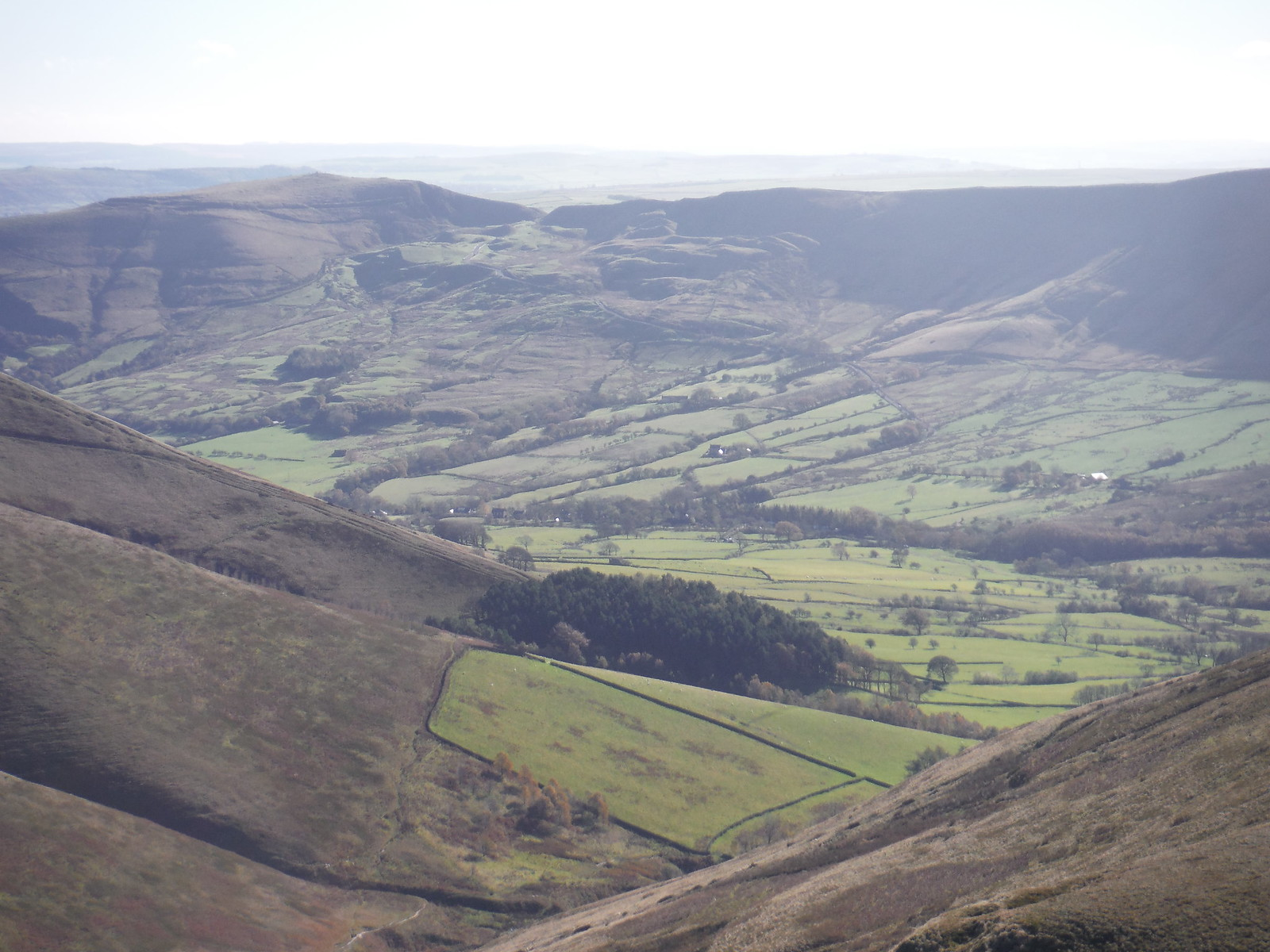 Crowden Clough, Mam Tor, Rushup Edge SWC Walk 304 - Kinder Scout Circuit (from Edale)