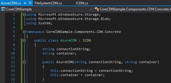 2017-11-12 17_40_02-CoreCDNSample - Microsoft Visual Studio