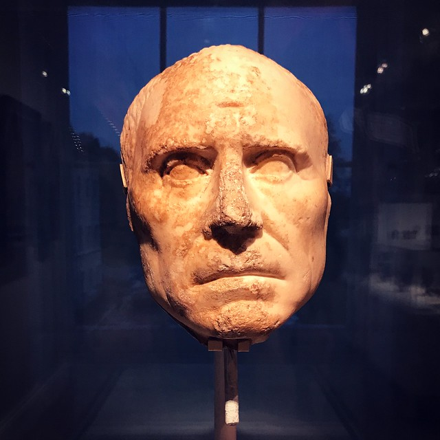 Marble Head Of A Man Of Note - (1st Century BCE / 1st Century CE)