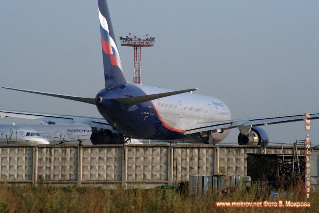 Ту-154 стоянка в Шереметьево.
