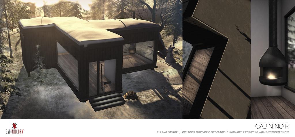 NEW! Cabin Noir @ Tannenbaum
