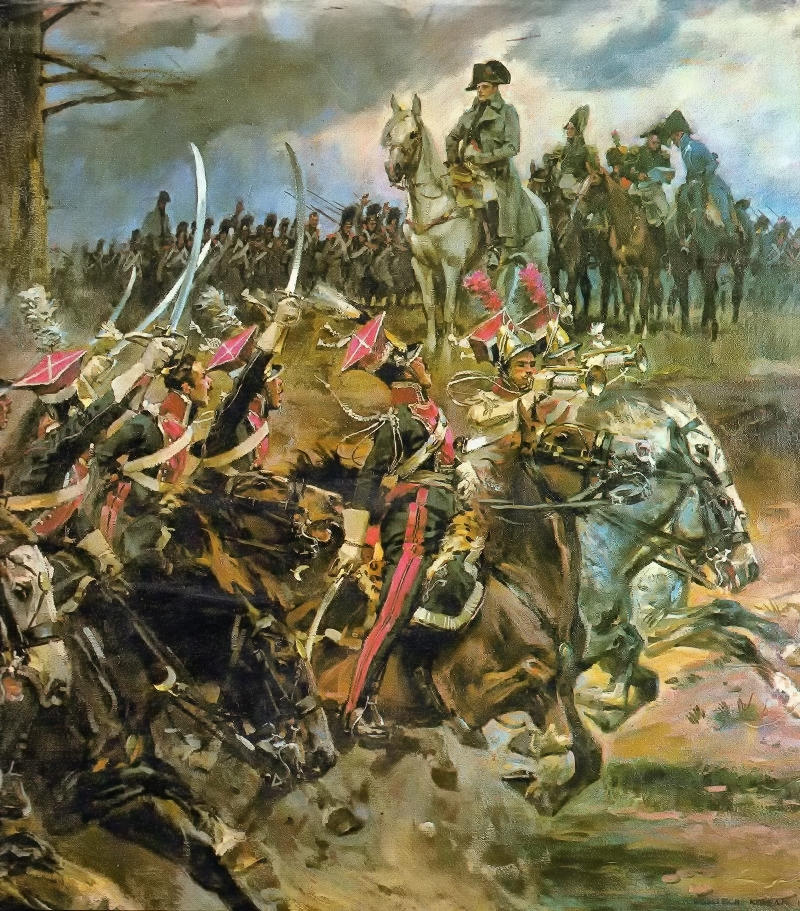 'Long live the Emperor!' Napoleon on the battlefield