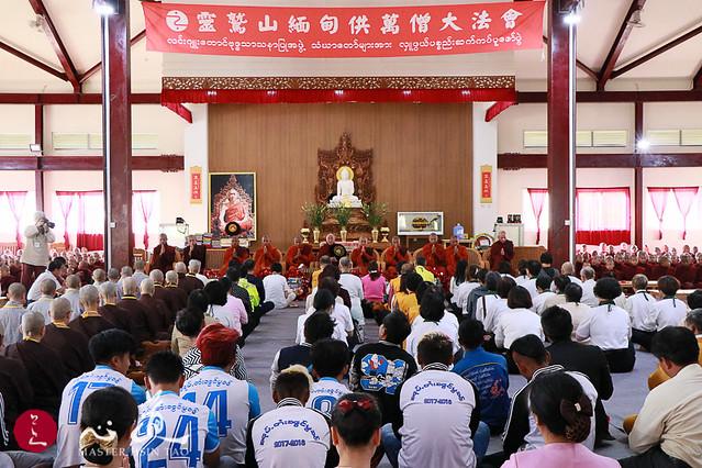 20171205緬甸供萬僧