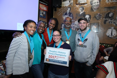 People's History Trivia Night DC 2017