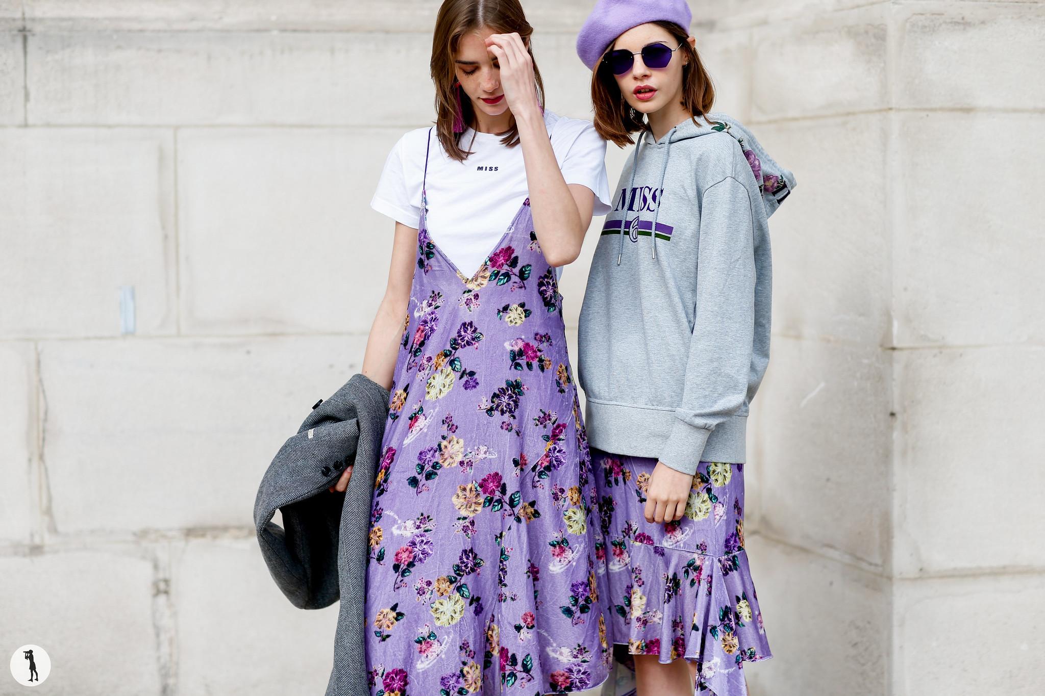 Street style - Paris Fashion Week SS18 (19)