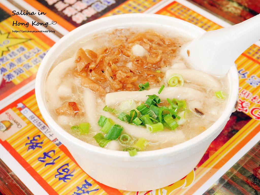 香港佐敦站附近餐廳必吃小吃推薦十八座狗仔粉 (1)