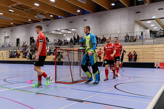 Bülach Floorball vs. Flames (18.11.2017)