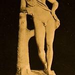 1910 Foto Brogi 001, Fauno in riposo copia di Prassede IV sec. a.C - https://www.flickr.com/people/35155107@N08/