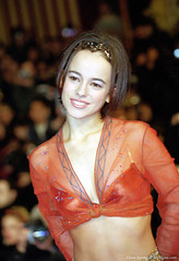 Alizée NRJ Music Awards à Cannes en 2001