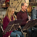 016 DSCN9450c Ealing Symphony Orchestra rehearsal. Conductor John Gibbons. Leader Peter Nall. St Barnabas Church, west London. 25th November 2017 (Photo Lucy Robinson)