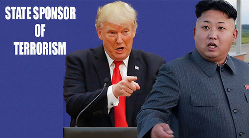Trump designates North Korea as a state sponsor of terrorism